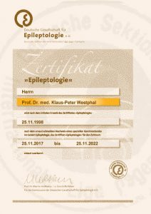 Zertifikat Epileptologie